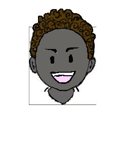 黒人 笑い