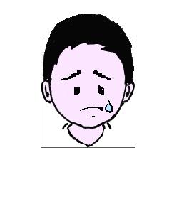 ジア人 泣く