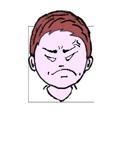 茶髪 怒り