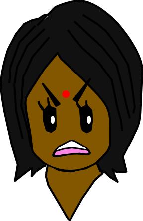 1x1.trans ④可愛い 作業者 女性 表情 髪の毛