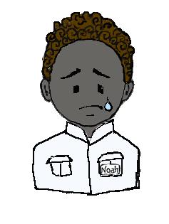 黒人 泣く