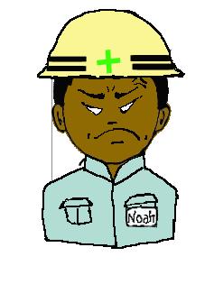 安全ヘルメット アフリカ人