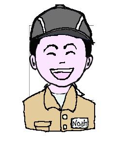 日本人 作業帽子 微笑