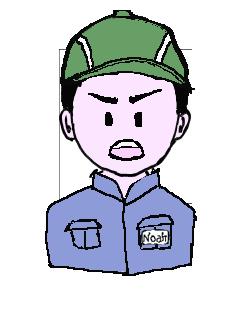 日本人 作業帽子 不満