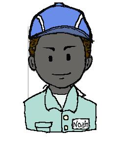アフリカ人 作業帽子