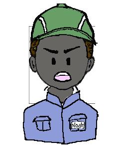アフリカ人 作業帽子 不満