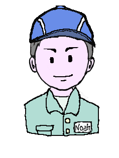 銀髪 作業帽子