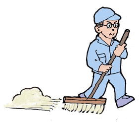 「イラスト 無料 清掃」の画像検索結果