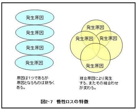慢性ロスの特徴
